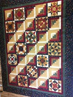 This is a sampling of customer quilts: Ann's quilt for her son ... : quilt settings - Adamdwight.com