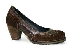 Brown Professional Work Pumps High Heels Dromedaris European Craftsmanship Leather Quality Suede     http://www.clog-heaven.com/servlet/the-3086/Dromedaris%2C-Eco-Friendly%2C-dress%2Cshoes%2C/Detail
