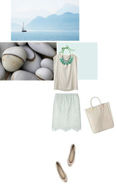 """""""Stones and blues"""" by babyou ❤ liked on Polyvore"""