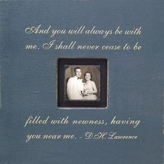 And you will always be... SugarBoo Large Photo Box Frame - SugarBoo Designs  #Quote