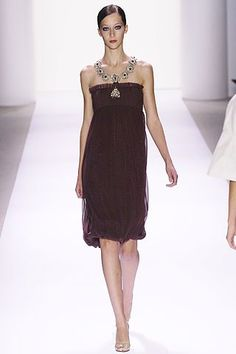 Monique Lhuillier Spring 2007 Ready-to-Wear Fashion Show - Alana Zimmer