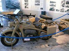 Zündapp KS 750 ca 1942 Ural Motorcycle, Cafe Racer, Sidecar, Germany, Military, Bike, Motorcycles, Motorbikes, Bicycle