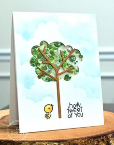 How Tweet of You #card by JJ Bolton for #PaperSmooches June Release Blog Hop