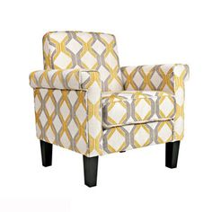 angelo:HOME Modern Yellow Chair now featured on Fab.