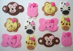 zoo animal cupcakes - Google Search
