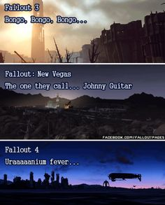 Which one is your favorite?  If you see this on a friend please consider following my blog. Are you also on Facebook? Follow my page HERE for more cool stuff!  fallout fallout music fallout songs johnny guitar bongo bongo uranium fever butcher pete