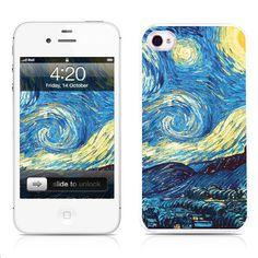 Handmade iPhone Cases-Starry Night(iPhone 4/4S,iPhone 5)