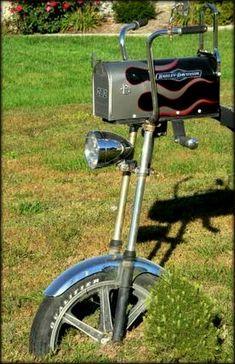 Harley-Davidson motorcycle mailbox