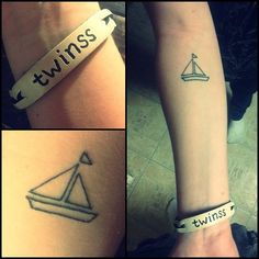 sailboat tattoo | Tumblr