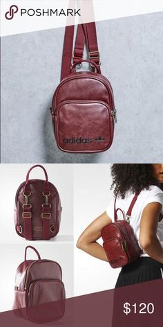 Adidas Mini Backpack Vintage mini backpack, adjustable straps. New without tags. adidas Bags Backpacks