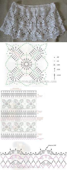 Luty Artes Crochet: Confecções em crochê + Gráfico.