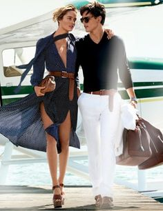 What to wear when one travels via sea plane.