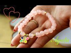 b0a7f60a5ca4 Como hacer una Pulsera de Agata (Piedra natural)  Pekas Creaciones