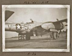 Feb., 1945 - A-26 (Plane) - Belgium - A-78 Fc B, Belgium, Wwii, Air Force, The Unit, Plane, Group, World War Ii, Airplane