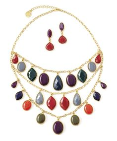 Liz Claiborne necklace and earrings #fallstyle #comingsoon