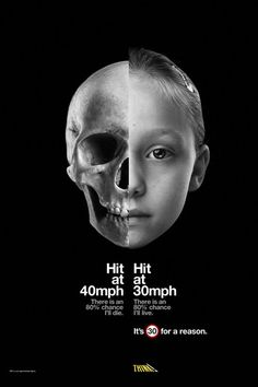Great use of contrast in subject matter and juxtaposing facts, black and white color composition, and photomontage. Road Safety Poster, Health And Safety Poster, Safety Posters, Medical Posters, Photomontage, Clever Advertising, Search Advertising, Campaign Posters, Social Campaign