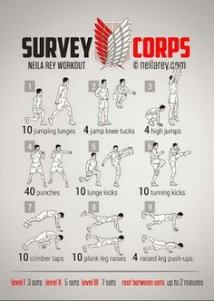 Survey Corps Exercise Training
