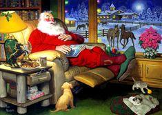 «Из жизни Санта Клауса» Tom Newsom (45 работ)