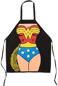 Wonder Woman Apron.... must have!