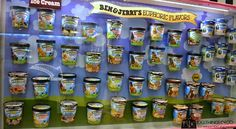 Ben & Jerry's - a must-stop place on any Vermont tour! #placestoseeinVermont #ben&jerrys #fallfoliagetour #greaticecream
