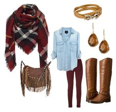 """""""Hayride Chic"""" by evwboudreaux on Polyvore"""