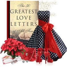 Love Letters, created by barbarapoole on Polyvore
