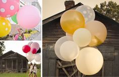 GroopDealz   36 inch Jumbo Round Balloons - 27 Colors!