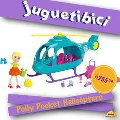 Polly siempre busca nuevas aventuras y nada mejor que viajar en un helicóptero.