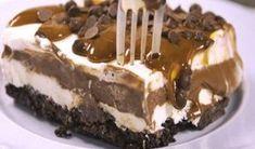 Το τέλειο σοκολατένιο γλυκό ψυγείου με όρεο Sweets Recipes, Candy Recipes, Summer Desserts, Easy Desserts, Food Network Recipes, Food Processor Recipes, Oreo Torta, Ice Cream Recipes, Desert Recipes
