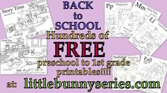 Little Bunny series Free Printable Worksheets, Preschool Worksheets, Free Printables, Fall Preschool, Preschool Crafts, Teaching Abcs, Adorable Bunnies, Love Parents, Reading Worksheets
