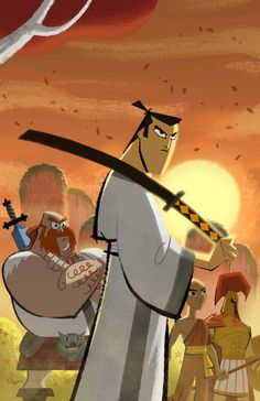 Another Cartoon Network classic--Samurai Jack was such an intense show with so much action exceeding the age rating's standards. I did not even know that Jack was just the samurai's alias; I have to admit that he is even cool for having no name.