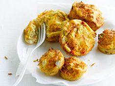 Minis quiches Mini Quiches, Chorizo, Starters, Baked Potato, Risotto, Entrees, Cauliflower, Buffet, Zucchini