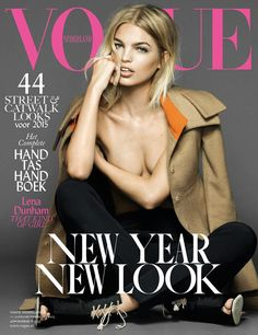 cool Vogue Netherlands January 2015 | Daphne Groeneveld by Nico [Cover]