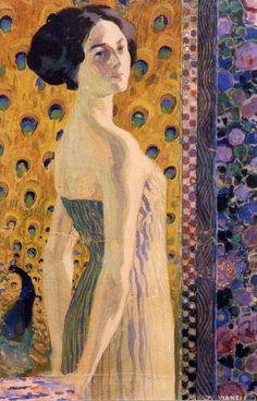 Giovanni Vianello (1873-1926), Giovane donna di spalle