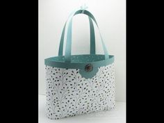 """""""One-Sheet Total"""" Tote Bag video tutorial: EASIEST & most ECONOMICAL ever! - Song of My Heart Stampers"""