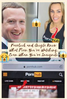 Facebook and Google Know What Porn You're Watching, Even When You're Incognito #Facebook #Google #Porn #Watching #Incognito #XXX #Sex #OMG #WTF #Seriously #Funny #Humor #PronHub Strange History, Seriously Funny, Wtf Fun Facts, Cute Pins, Weird World, Horse Love, Bad News, Funny Humor, Cute Couples