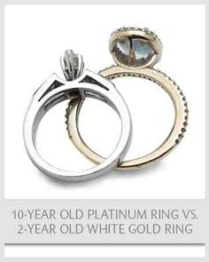 Why Metal Matters:  Like your love, you want a metal that will endure and stand the test of time. Platinum will never fade or change color, and will remain as brilliantly white as the day you receive it and for generations to come .Explore platinum's unique qualities here. #MarthaRings