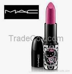 If you know me, you��ll know my love for MAC Cosmetics is infinite. I love the quality and I love the color selection. Hello Kitty Makeup, Hello Kitty Nails, Hello Kitty Items, Sanrio Hello Kitty, Mac Nail Polish, Mac Makeup Set, Mac Lipstick, Pretty In Pink, Mac Cosmetics