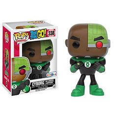 POP! Television: Teen Titans GO: Cyborg as Green Lantern ...