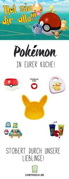 Pokémon in eurer Küche! Unsere liebsten Küchenprodukte rund um Pikachu und die anderen kultigen Taschenmonster
