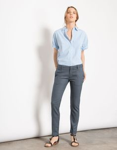 Pantalon cigarette Lizzy - PLUME - Reiko Jeans