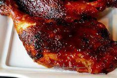 Ultimate Oven BBQ Chicken Leg Quarters Recipe