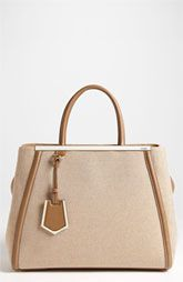 Fendi '2Jours - Medium' Canvas Shopper