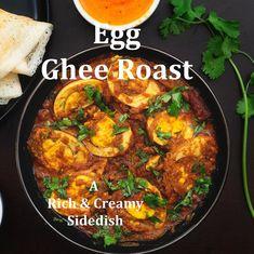 Spicy Chicken Recipes, Tasty Vegetarian Recipes, Curry Recipes, Egg Recipes Indian, Egg Recipes For Dinner, Comida India, Biryani Recipe, Kerala India, C'est Bon