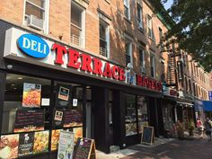 Terrace Bagels - Brooklyn, NY, United States. Selfie