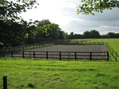 Building An Arena at Home~Create the perfect space to ride your horse on your own property.
