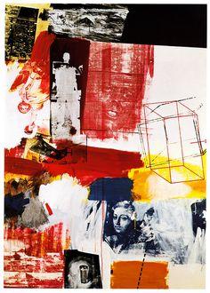 Robert Rauschenberg, 'Press', 1964, Oil and silkscreen ink on canvas, 68 x 48 in.