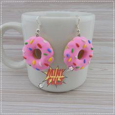 Par de Brincos Donut Grande no Elo7 | Mini Cult (C8E0C3)
