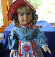 "American Girl Doll~Kirsten~ 18"" Original Outfit and Book #1~Pleasant Co. in Dolls & Bears, Dolls, By Brand, Company, Character, American Girl, Kirsten 