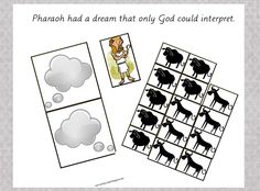 activities+for+joseph   Our Country Road: Bible Activity Book: Pharaoh's Dream FREE Printable ...